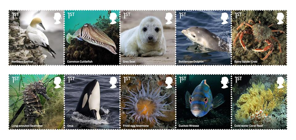 The new stamp collection (PA Media)