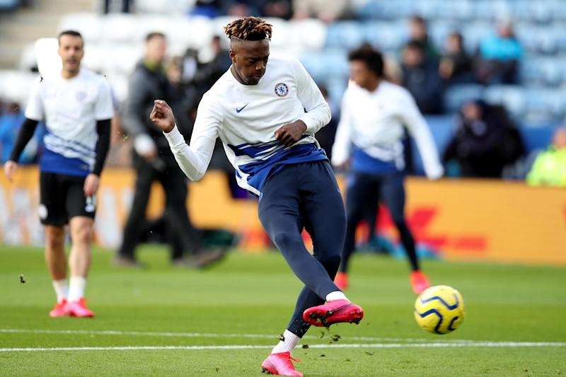 Late fitness check: Tammy Abraham (REUTERS)