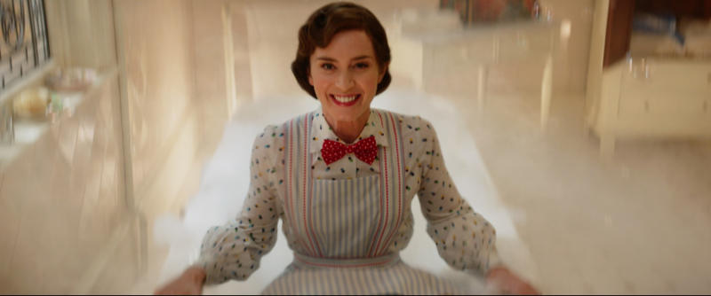 Emily Blunt plays the lead role in Mary Poppins Returns (Disney/PA)