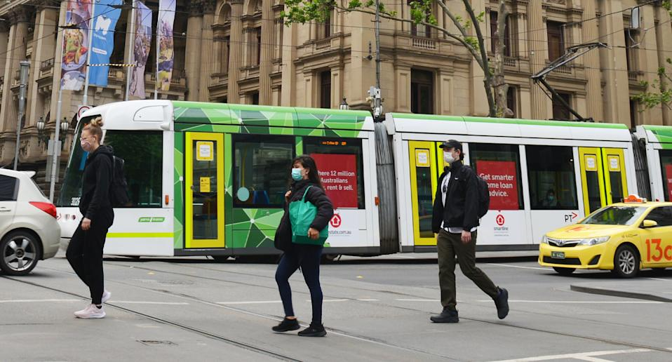 Melburnians are waking up to the end of lockdown on Wednesday. Source: Getty