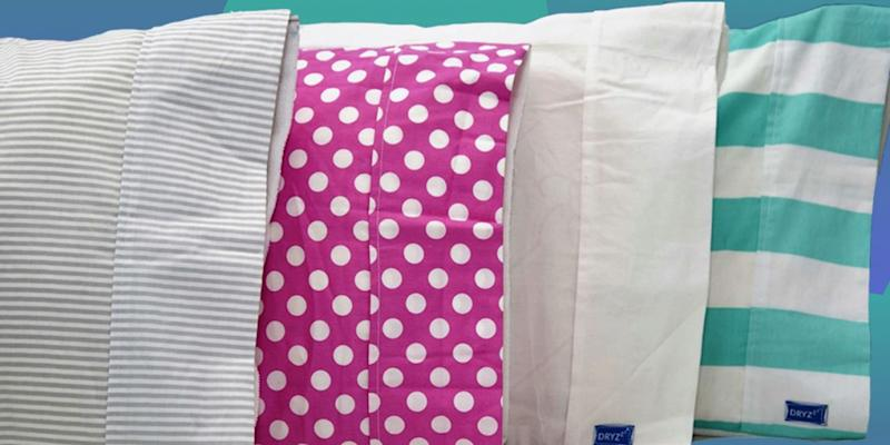 The DryZzz Pillow Case for Wetheads. (Photo: Amazon)