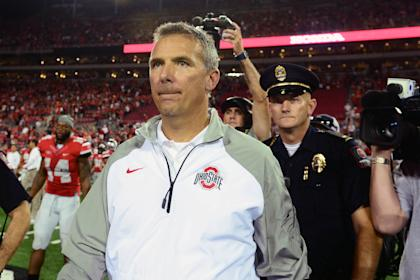 Urban Meyer's Buckeyes only have one loss, but they are presently off the radar in CFP discussions. (USAT)