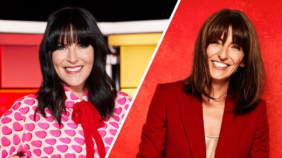 Anna Richardson (pictured left in Naked Attraction) will replace Davina McCall (right) on the home improvement show (Channel 4/BBC)