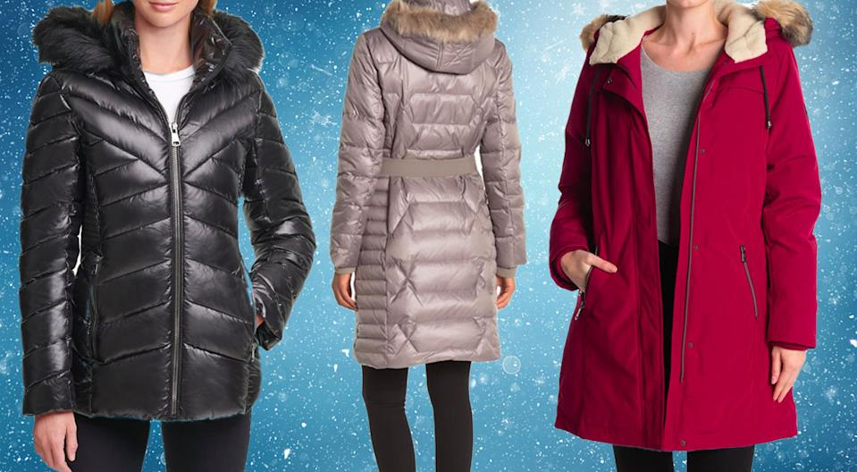 Puffers and parkas are majorly discounted at Nordstrom Rack right now! (Photo: Nordstrom Rack)
