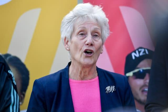Dame Louise Martin welcomed the announcement of India holding a separate shooting and archery championships in 2022 (Jacob King/PA)