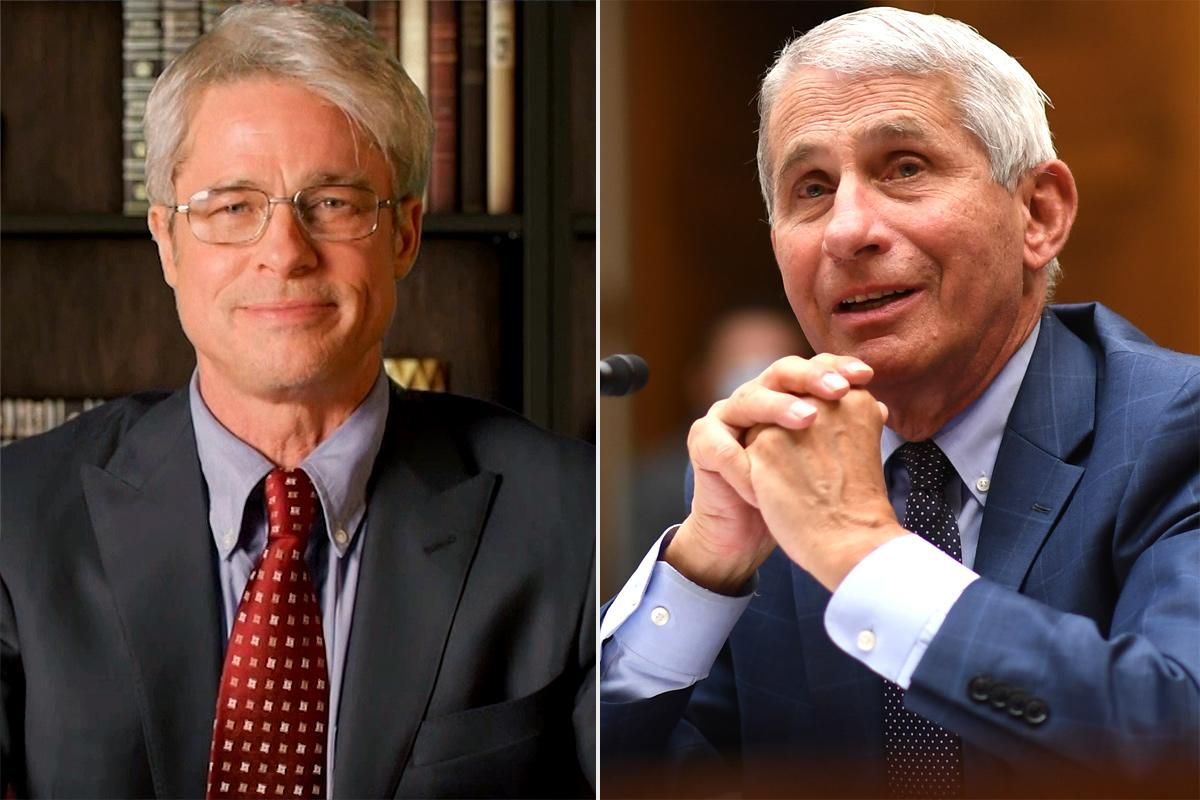 """<p>Pitt scored a nomination in the outstanding guest actor in a comedy series category for his three-minute portrayal of Dr. Anthony Fauci, the leader of the White House Coronavirus Task Force.</p> <p>Fauci had mentioned specifically he would want the actor to <a href=""""https://people.com/tv/anthony-fauci-brad-pitt-play-him-saturday-night-live/"""">portray him</a>on<em>SNL</em> during a CNN interview. Then, after Pitt's portrayal, Fauci happily shared, """"<a href=""""https://people.com/tv/dr-fauci-reacts-to-brad-pitt-portrayal-of-him-on-snl/"""">I think he did great.</a> I mean, I'm a great fan of Brad Pitt and that's the reason why when people ask me who I would like to play me I mention Brad Pitt.""""</p> <p>Fauci explained, """"He's one of my favorite actors. I think he did a great job.""""</p>"""