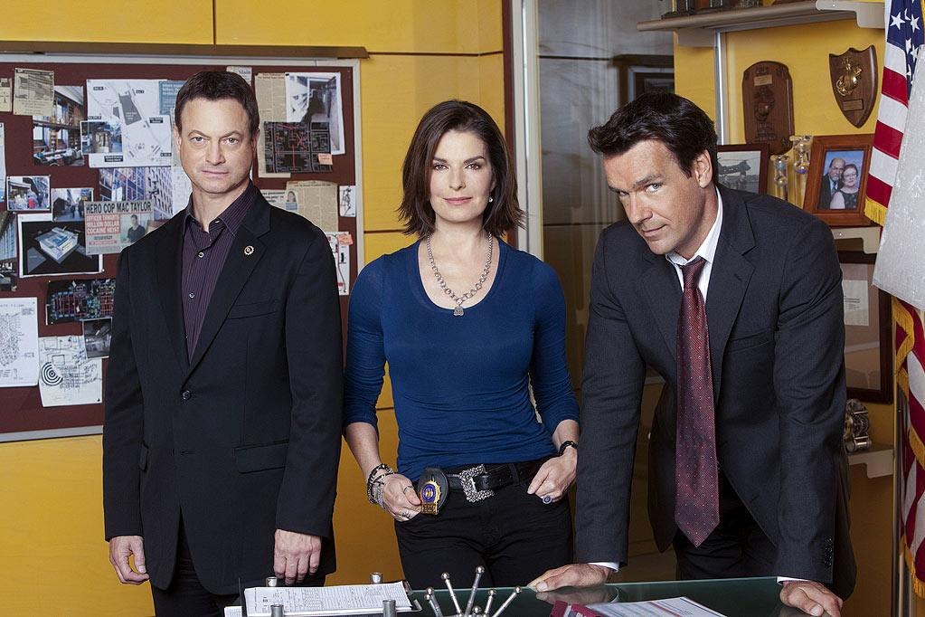 """""""<a href=""""/csi-new-york/show/36471"""">CSI: NY</a>"""" — The """"CSI"""" franchise is losing steam fast, but Gary Sinise and Sela Ward are still cracking cases every Friday night on CBS. We like them both as actors, but after eight seasons, it'd be nice to see them do more than stare at crime scenes and grimace. We could list """"<a href=""""/csi-miami/show/28267"""">CSI: Miami</a>"""" here as well, but at least that has the unintentional humor of David Caruso dramatically removing his sunglasses."""
