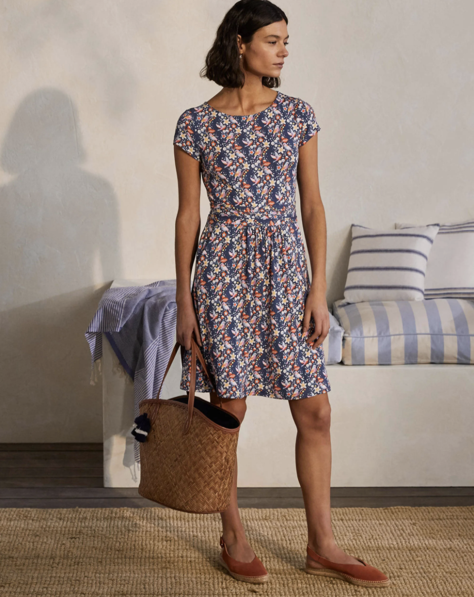 The dress comes in eight different prints. (Boden)