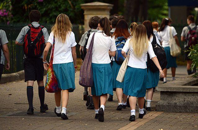 Dropping the mention of gender from school sex education has been recommended to make lessons more inclusive for transgender students. Picture: Sunrise/File