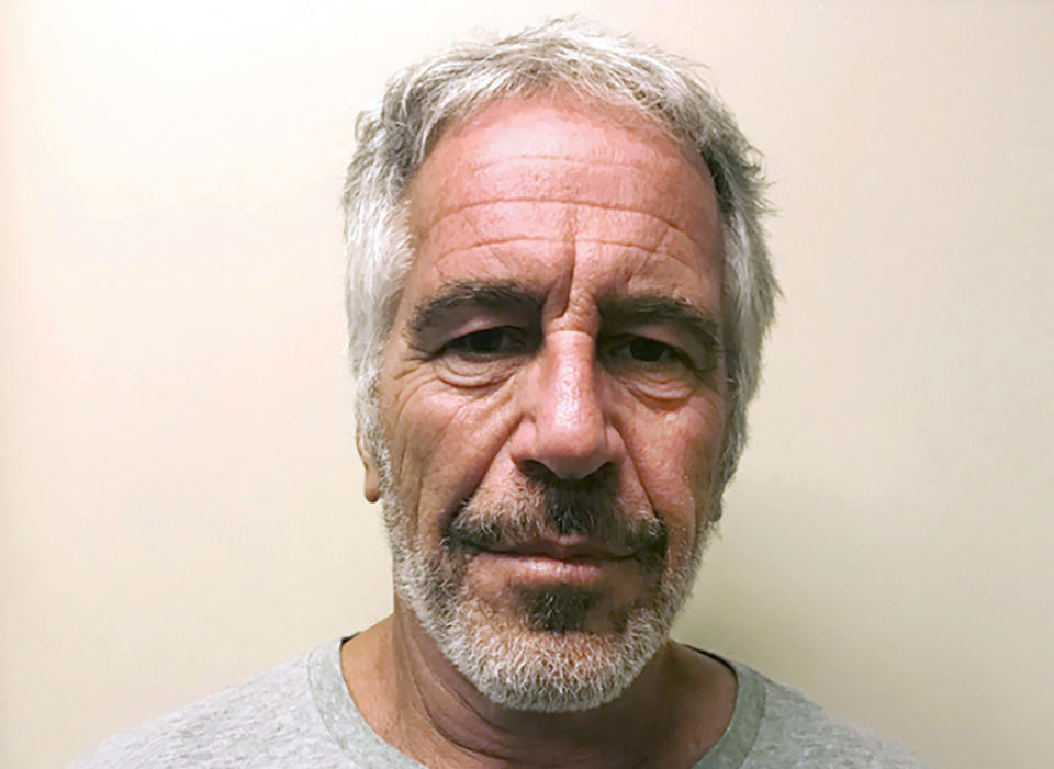 This March 28, 2017, file photo, provided by the New York State Sex Offender Registry, shows Jeffrey Epstein.