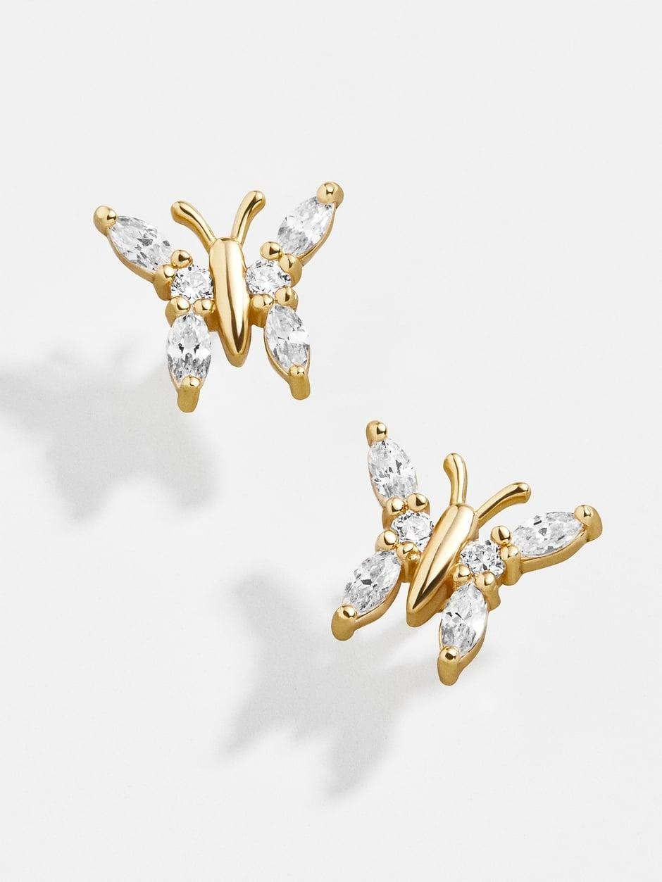 <p>These butterfly <span>BaubleBar Vanessa 18K Gold Earrings</span> ($44) are a gorgeous pick. </p>