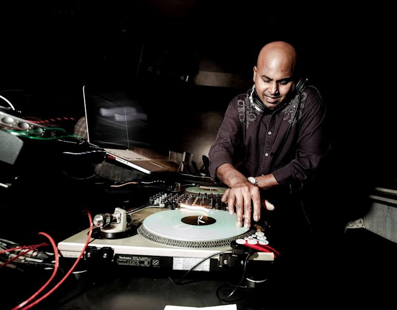 A pioneer in Singapore's hip hop scene, deejay Titus Singam, 52, has performed alongside the likes of Akon and Lil Jon. (PHOTO: Titus Singam)
