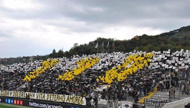 <p>Your first instinct is probably - who?! But Spezia Calcio are a side brimming with potential in Italy's second division. The team from the Liguria region of Italy have been bordering on promotion to the Italian top flight for quite a few years now, and have missed out only marginally in the play-offs on countless occasions. </p> <br><p>The squad is packed with potential, with young stars in the form of Gennaro Acampora and Patrick Ciurria on the rise year after year. Notable Spezia alumni comes in the shape of Watford striker Stefano Okaka, who helped Spezia rise up the ranks following their declaration of bankruptcy in 2008. Since then, the club have climbed Italy's divisions and year after year are potential favourites for the Serie B. </p> <br><p>The fans of the Curva Ferrovia are some of the most passionate and dedicated in the entirety of European football, and the cult following has the chance of being a true driving force to the rise of the club. It is just a matter of time before the side make it to Serie A, and when they do, expect them to make a huge impact with their team of boundless potential, and a future Serie A crown could be in their midst. </p>