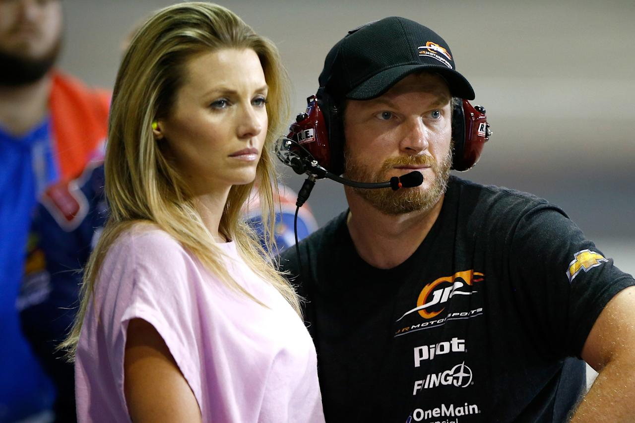 """The NASCAR star, along with his wife and young daughter, <a href=""""https://people.com/sports/dale-earnhardt-jr-speaks-out-after-plane-crash/"""">escaped without injuries from a fiery small plane crash</a> in Elizabethton, Tennessee.  """"Amy and I want to thank everyone who has lifted us up with phone calls, messages and prayer since last Thursday,"""" Earnhardt wrote on Instagram in the aftermath. """"We are truly blessed that all on board escaped with no serious injuries, including our daughter, our two pilots and our dog Gus."""""""