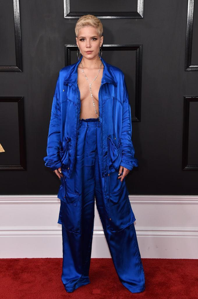 Halsey in Christian Wijnants. (Photo: Getty Images)