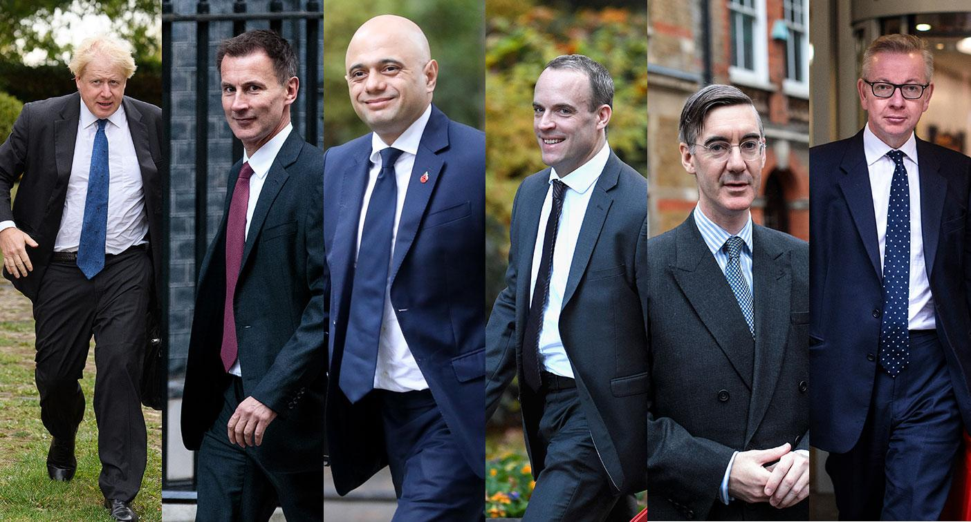 The candidates tipped to take over from Theresa May (Getty Images)
