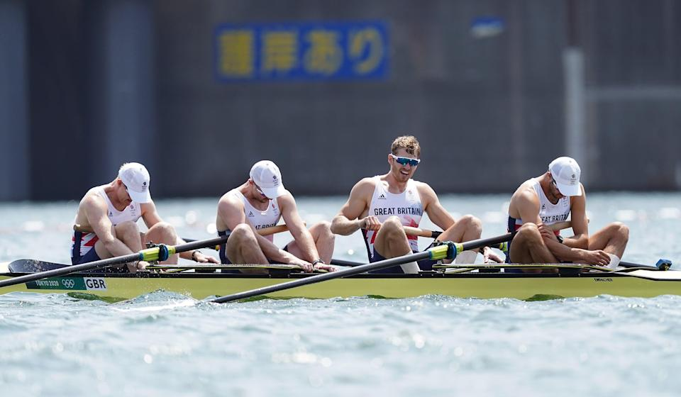 Great Britain failed to win a medal in the men's four – an event they had dominated this millennium (Mike Egerton/PA) (PA Wire)