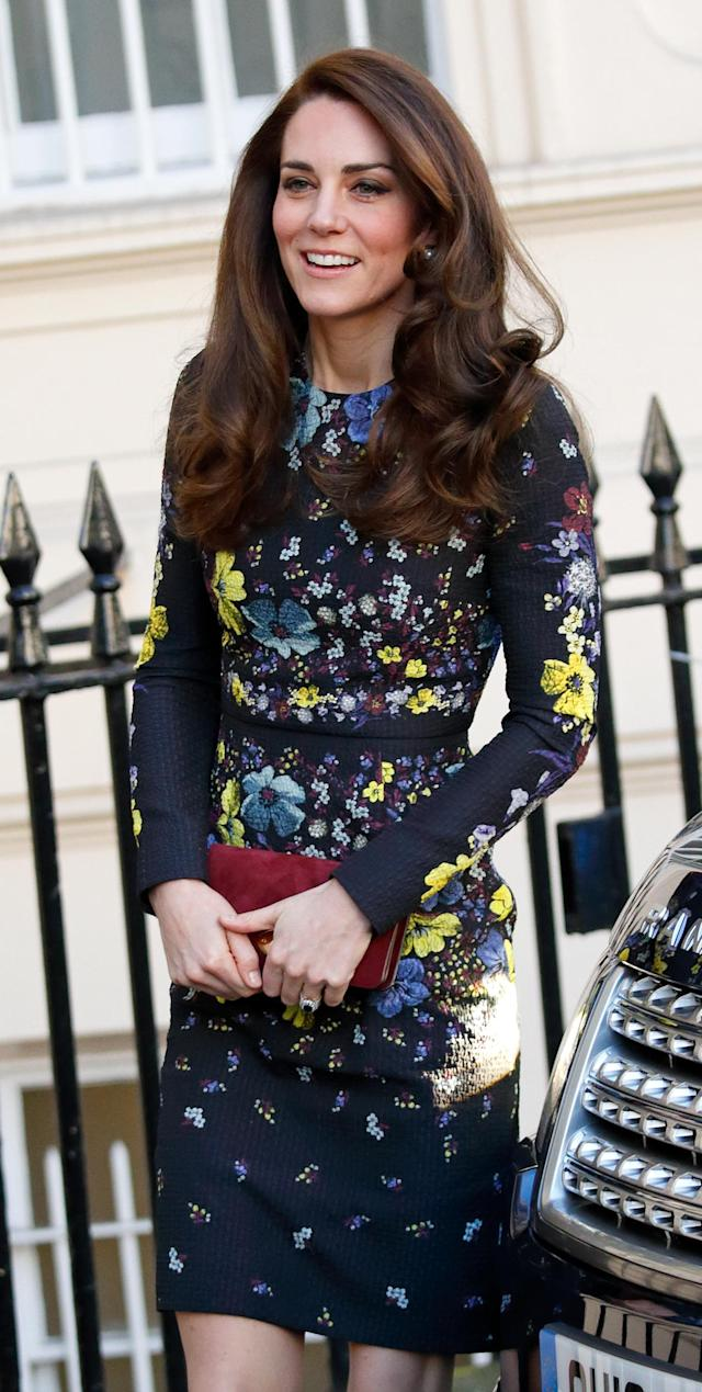 Kate Middleton, pictured in 2017, has worn Erdem on numerous occasions. (Photo: Max Mumby/Indigo/Getty Images)