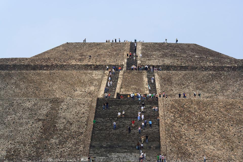 Teotihuacan - GETTY