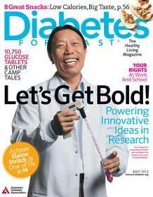 Let's Get Bold -- Diabetes Forecast Magazine Highlights Courageous Moves in the Fight to Stop Diabetes