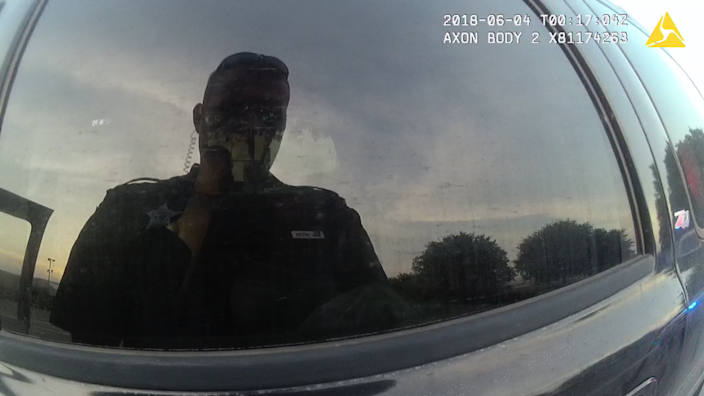 Reflections on body camera footage from Deputy Zachary Wester, former county in Jackson, Florida.