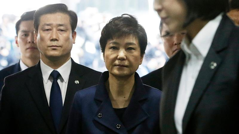 Arrest Warrant Issued for Ousted South Korean Prez Park Geun-hye