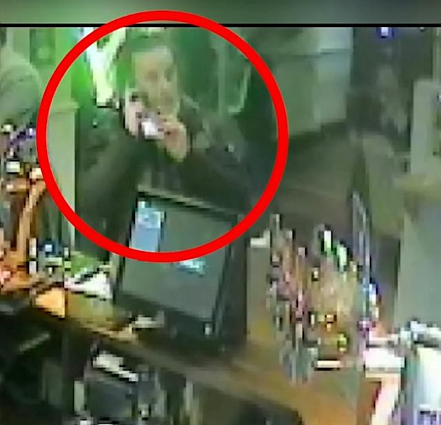 CCTV from shops, a pub and cash machines showed Port using a stolen card (Picture: SWNS)