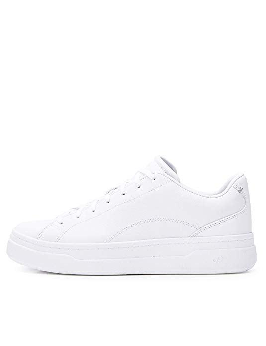 """<p>These <a href=""""https://www.popsugar.com/buy/CARE-PUMA-Leather-Platform-Low-Top-Sneakers-537503?p_name=CARE%20OF%20by%20PUMA%20Leather%20Platform%20Low-Top%20Sneakers&retailer=amazon.com&pid=537503&price=74&evar1=fab%3Auk&evar9=47075748&evar98=https%3A%2F%2Fwww.popsugar.com%2Ffashion%2Fphoto-gallery%2F47075748%2Fimage%2F47075759%2FCARE-by-PUMA-Leather-Platform-Low-Top-Sneakers&list1=shopping%2Camazon%2Cwinter%20fashion&prop13=api&pdata=1"""" rel=""""nofollow"""" data-shoppable-link=""""1"""" target=""""_blank"""" class=""""ga-track"""" data-ga-category=""""Related"""" data-ga-label=""""https://www.amazon.com/Womens-Leather-Platform-Low-Top-Trainers/dp/B07R8GCC1T/ref=sr_1_4?dchild=1&amp;qid=1578338673&amp;rnid=679337011&amp;s=apparel&amp;sr=1-4&amp;th=1&amp;psc=1"""" data-ga-action=""""In-Line Links"""">CARE OF by PUMA Leather Platform Low-Top Sneakers</a> ($74) are my go-to, stylish-but-comfy kicks. They look great with sweats as well as a pretty patterned dress. Plus, they are easy to clean and maintain.</p>"""