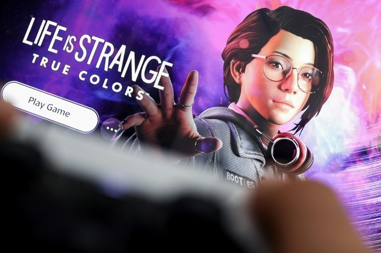 """""""Life is Strange: True Colors"""" allows players to pursue same-sex relationships as they journey through a supernaturally-tinged version of small-town America (AFP/Kenzo TRIBOUILLARD)"""