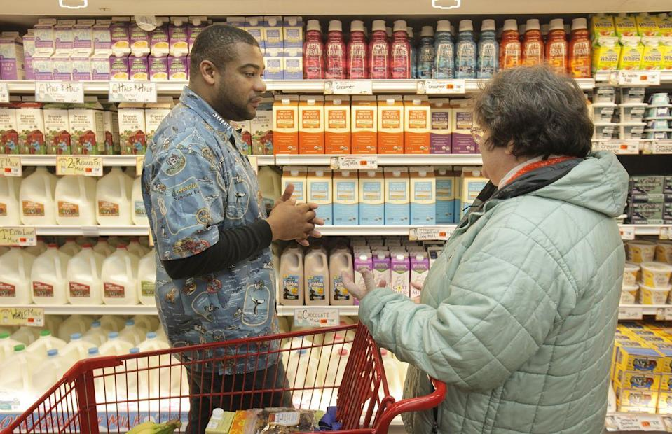 <p>The employees, known as crew members, are always on hand to help with any question. If you can't find what you're looking for, ask any crew member wearing a bright or funky shirt for assistance. Even if they are busy stocking shelves they are encouraged to help out shoppers first and then return to their task.</p>