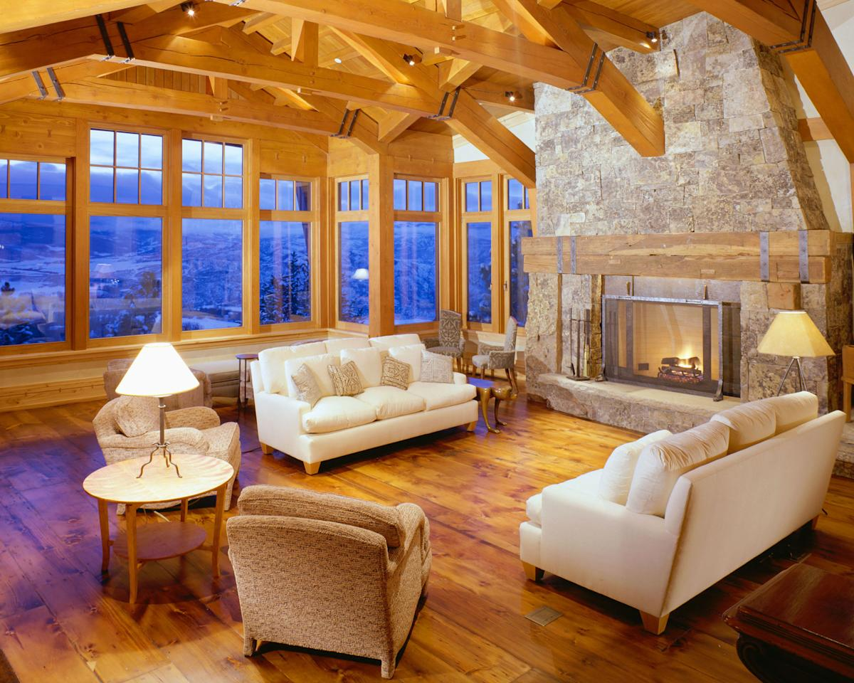Room With Nothing In It: 50 Cozy Fireplaces To Keep You Warm Through The Holidays