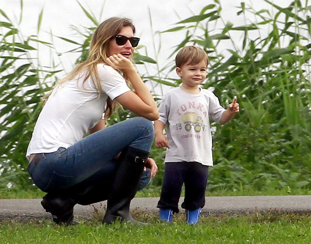 "<p class=""MsoNoSpacing"">After being stepmom to husband Tom Brady's son Jack with Bridget Moynahan, Gisele Bundchen gave birth to a little boy of her own named Benjamin in December 2009. The Brazilian beauty has been very outspoken about her parenting practices, especially breastfeeding, and has taken heat for imparting her views on others. ""I think there should be a worldwide law, in my opinion, that mothers should breastfeed their babies for six months,"" she told <em>Harper's Bazaar</em> in 2010, which drew quite a bit of criticism.</p>"