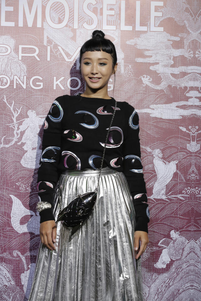 <p>Singaporean DJ Rozz Lee at CHANEL Mademoiselle Privé Exhibition in Hong Kong</p>