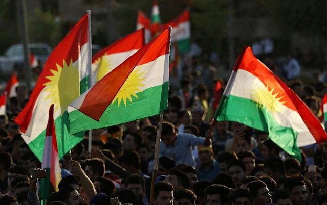 <p>Turkey and Iran fear independence for the Kurds of northern Iraq would embolden their own Kurdish minorities, while Baghdad has also bitterly opposed the plebiscite. (Photo: Safin Hamed/AFP/Getty Images) </p>