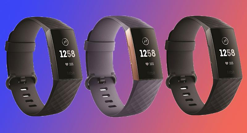The FitBit Charge 3 Activity Tracker motivates you to stay in tip-top shape no matter what life throws at you. (Photo: QVC)