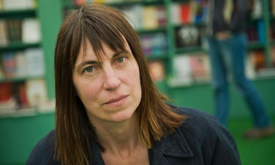 The British poet Alice Oswald, editor of the anthology The Thunder Mutters.