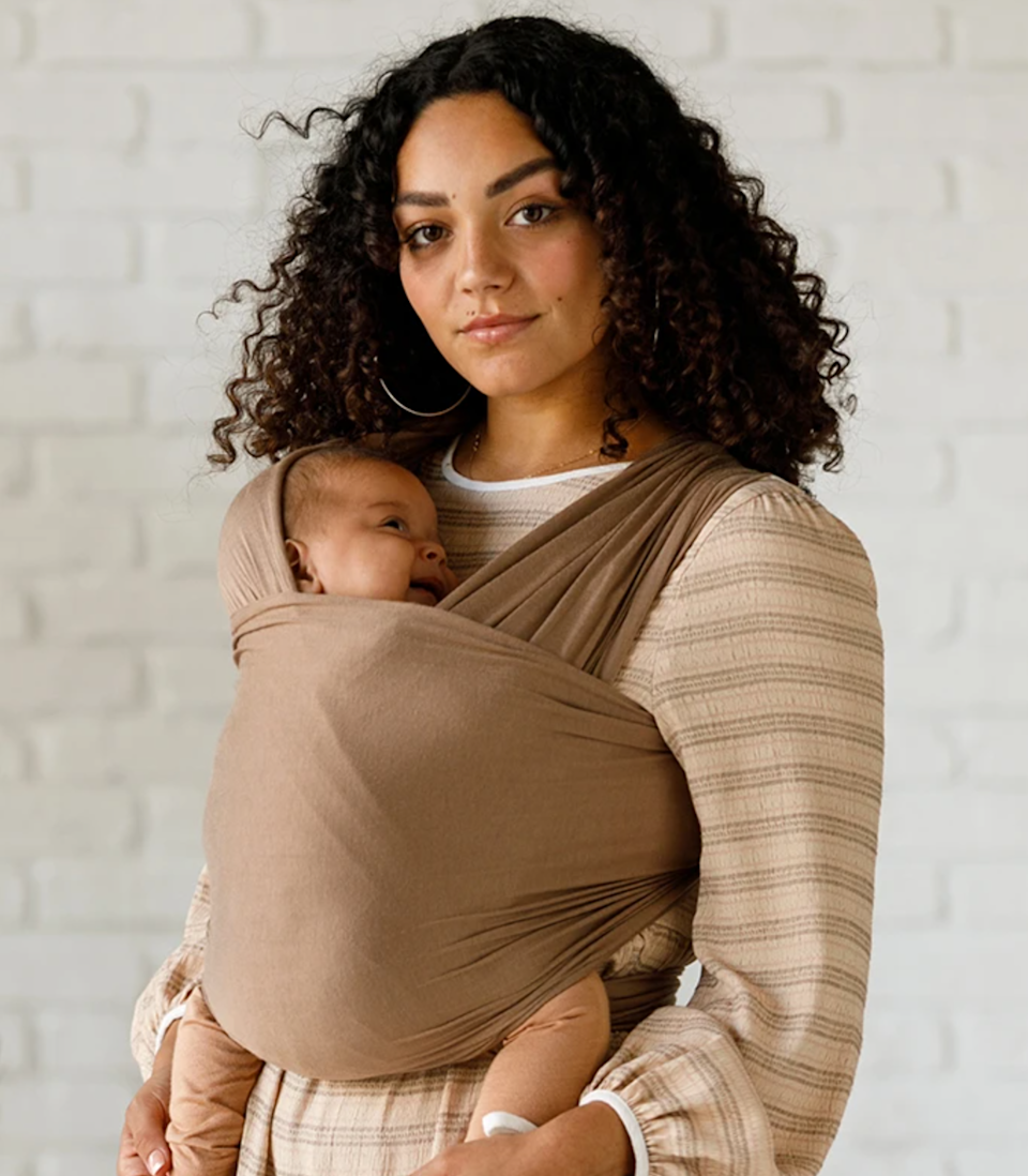 """While I was pregnant, I didn't think I would be into baby wearing. It looked too complicated and I didn't think it fit my style. Fast forward a few months, and these baby wraps have saved me time and time again. Not only did I find them much more suitable for a newborn than a conventional baby carrier, but my son loved them so much. He fell asleep so easily and it really created bonding time with your little one that you don't get with some carriers. <em>—R.N.</em> $65, Solly Baby. <a href=""""https://shop.sollybaby.com/collections/wraps/products/acorn"""" rel=""""nofollow noopener"""" target=""""_blank"""" data-ylk=""""slk:Get it now!"""" class=""""link rapid-noclick-resp"""">Get it now!</a>"""