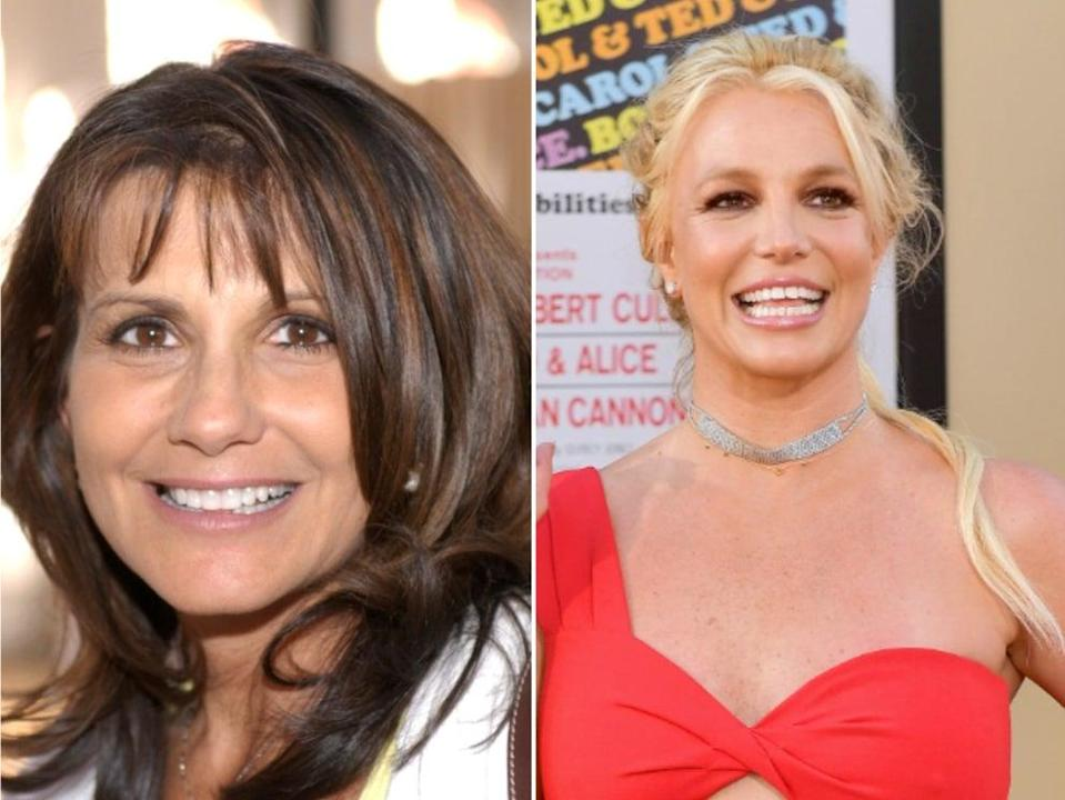 <p>Britney Spears's mother lashes out at Jamie Spears over 'substantively improper' lawyer fees</p> (Getty Images)