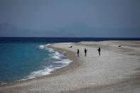 Island of Rhodes prepares for tourism season opening amid the coronavirus disease (COVID-19) pandemic