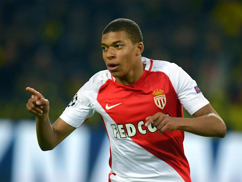 Mbappe has scored 22 goals from 35 appearances this season: Getty