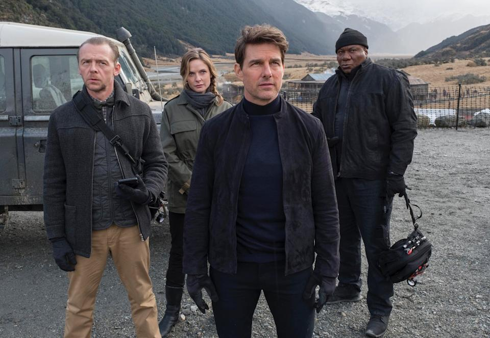 Simon Pegg says he and Ving Rhames have bigger roles in the Mission: Impossible sequels (Image by Paramount Pictures)