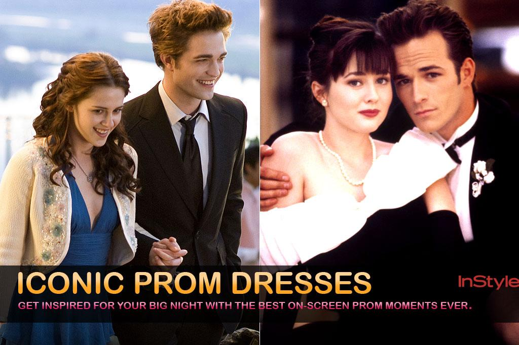 While we won't be shopping for a prom dress this season, we can't help feeling a little nostalgic this time of year. What better way to relive prom than through some of the most memorable on-screen looks ever?