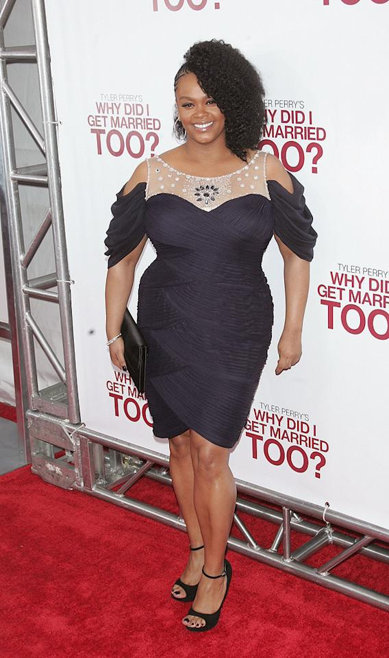 "<a href=""http://movies.yahoo.com/movie/contributor/1800287762"">Jill Scott</a> at the New York City premiere of <a href=""http://movies.yahoo.com/movie/1810073266/info"">Tyler Perry's Why Did I Get Married Too?</a> - 03/22/2010"