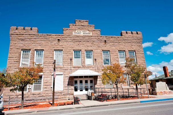 PHOTO: The historic courthouse in Esmeralda County, Nevada, Oct. 11, 2018. (Education Images/UIG via Getty Images)
