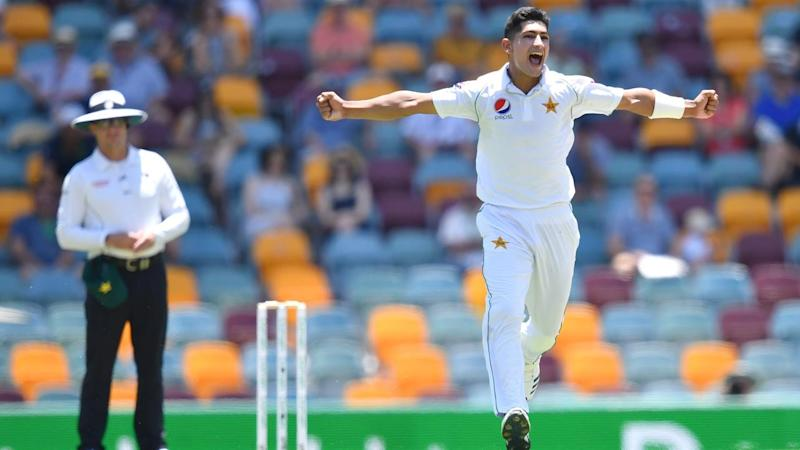 Naseem Shah provided a rare moment of joy for Pakistan early on the third day of the first Test