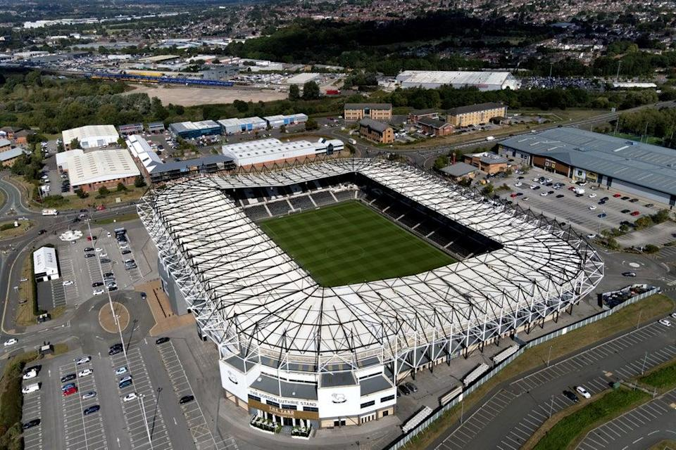 Administrators at Derby have put the club's survival chances at 95 per cent (Joe Giddens/PA) (PA Wire)
