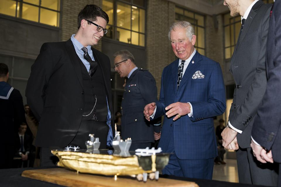 <p>William isn't the first royal to decline wearing a wedding ring. Prince Charles wears his family signet ring, but on his pinky finger instead of the ring finger.</p>