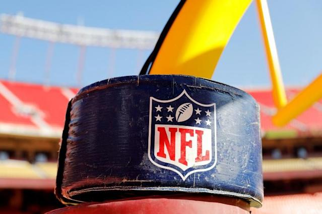 NFL teams can continue virtual off-season programs for another two weeks but there will be no in-person mini-camps in June due to the coronavirus pandemic, according to the league (AFP Photo/David Eulitt)