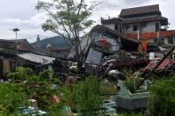 Aftermath of earthquake in Mamuju, West Sulawesi