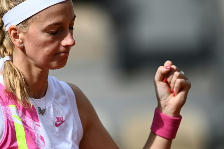 'It's my lucky place': Kvitova back in Roland Garros semi-finals after eight years